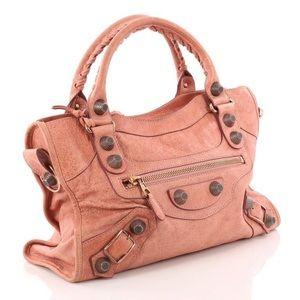 Balenciaga City Pink Handbag